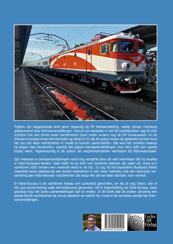Treinsamenstellingen in voorbeeld en model: Nachttreinen in Europa