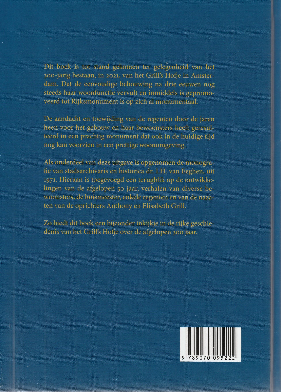 Hofjesboeken: 300 jaar Grill's Hofje