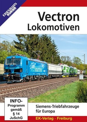 Vectron-Lokomotiven,DVD