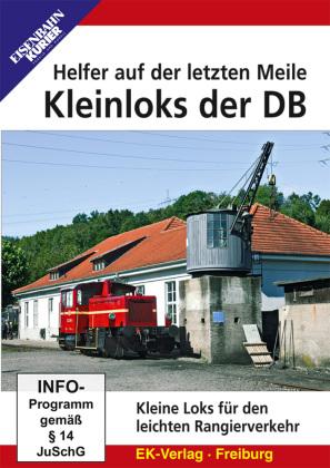 Kleinloks der DB - Helfer auf der letzt