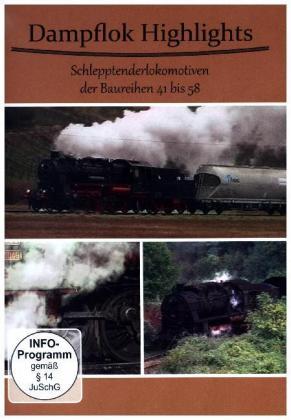 Dampf Highlights Schlepptenderlokomotiv
