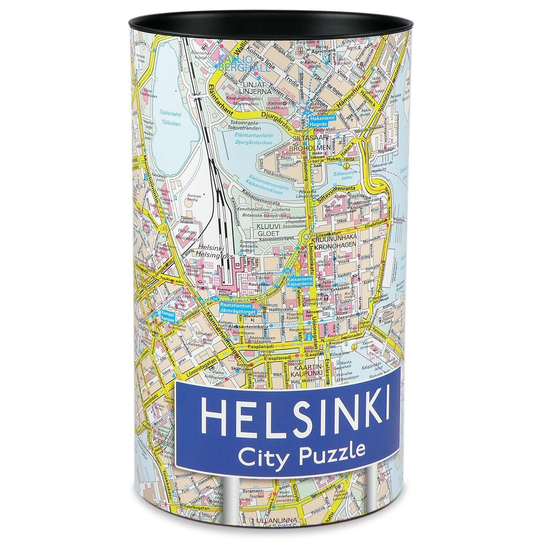 Helsinki city puzzle