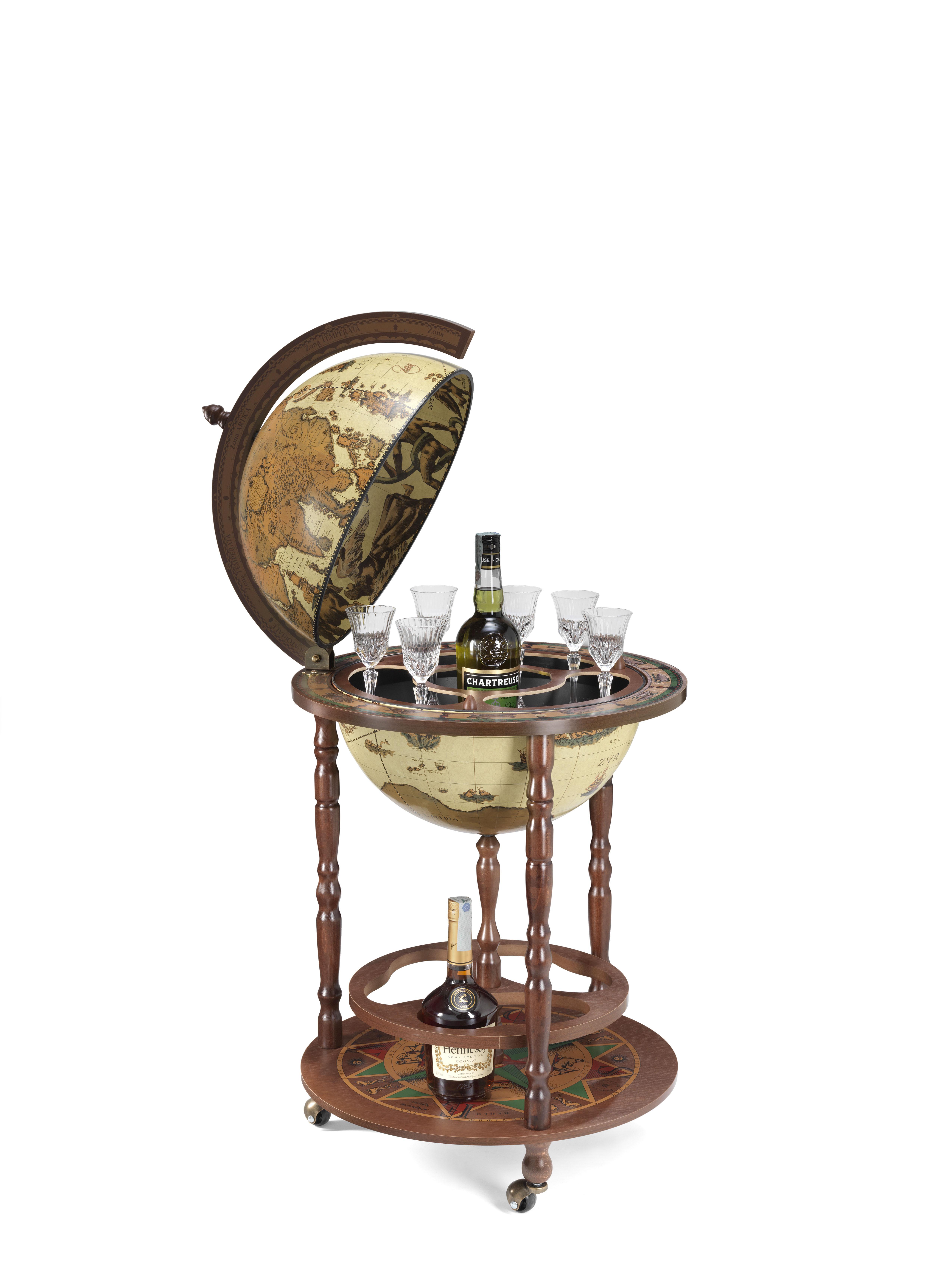 Giunone bar globe 40 Safari - 16e-eeuwse kaart, Safari
