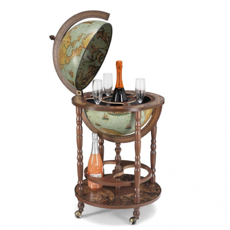 Minerva bar globe 40 Laguna - 16e-eeuwse kaart, laguna