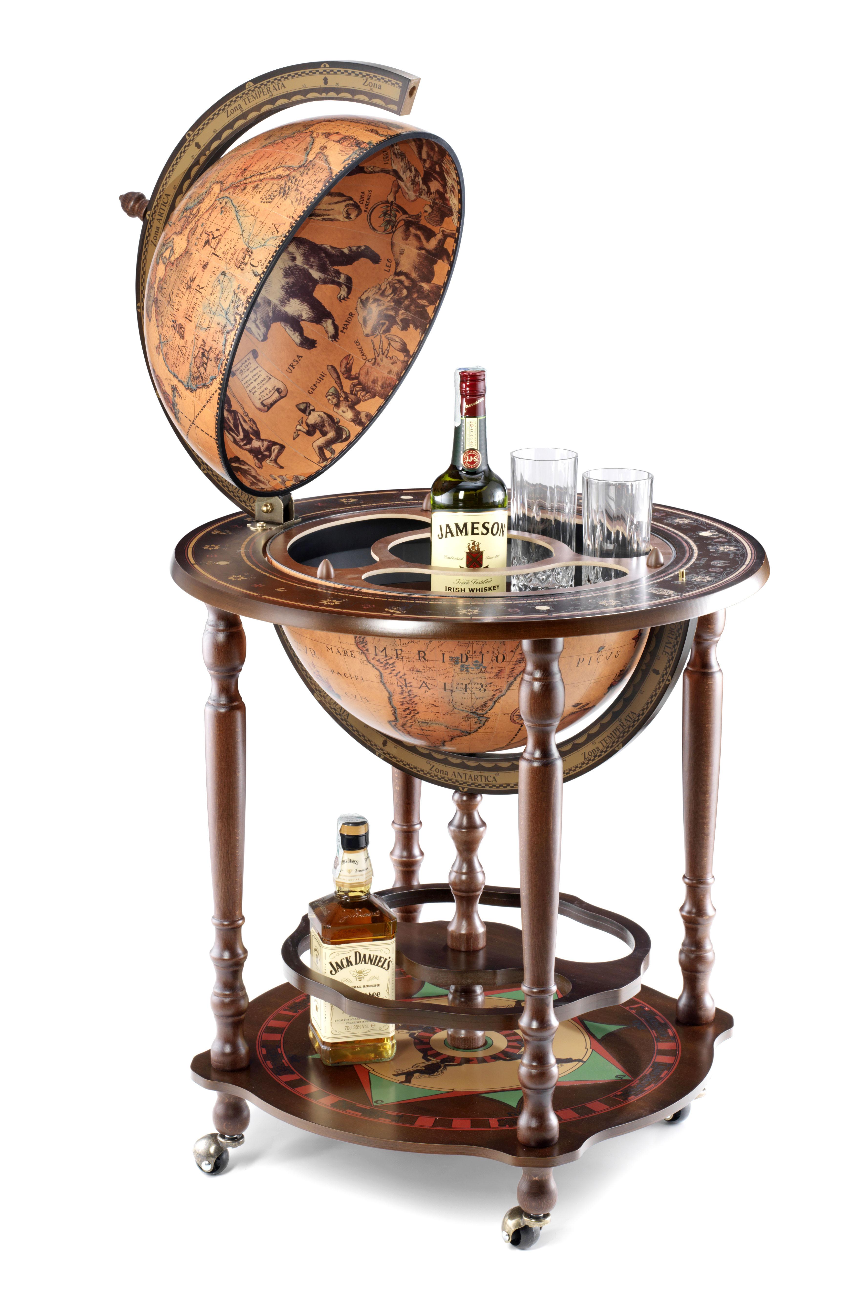Minosse bar globe 40 Classic - 16e-eeuwse kaart