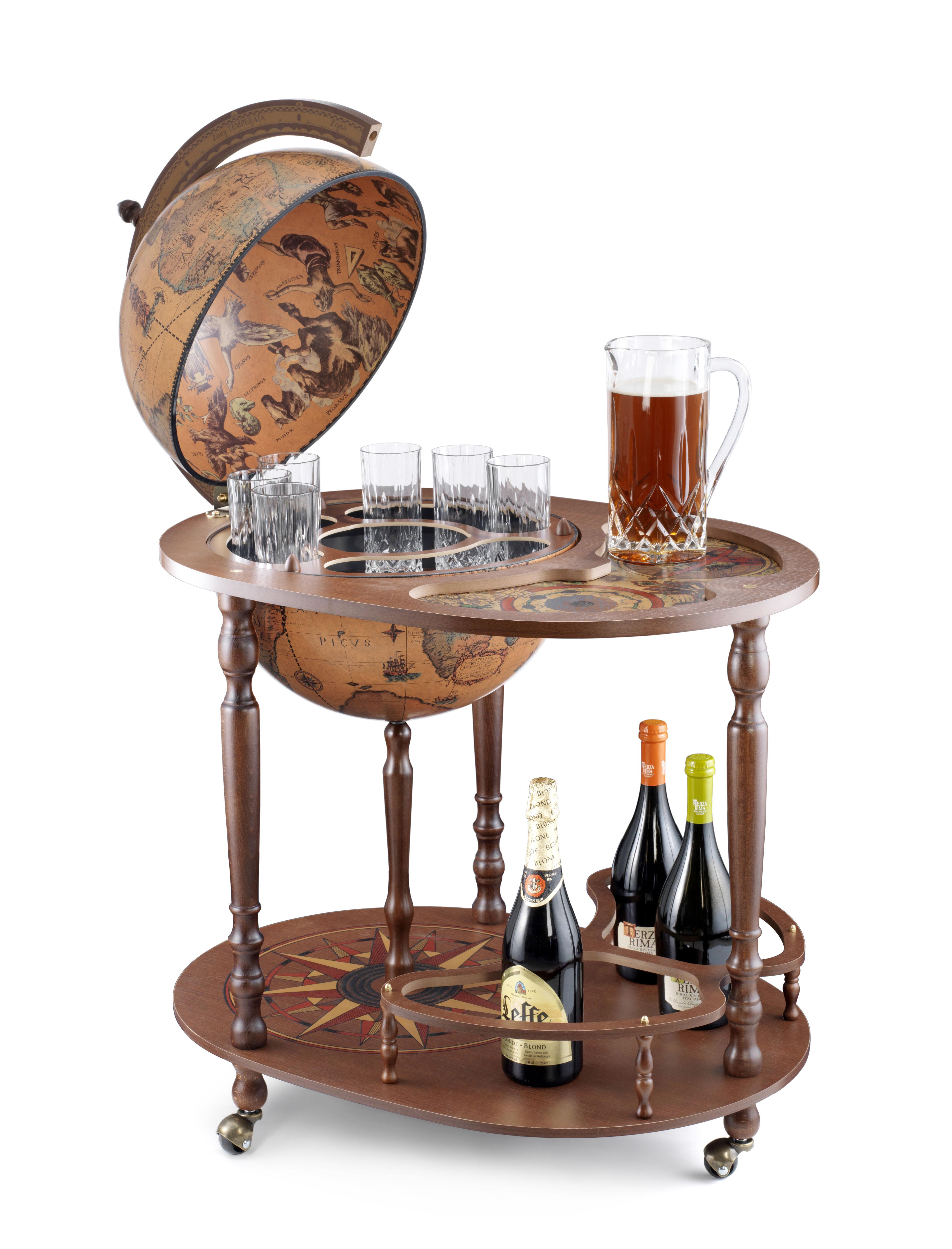 Giasone bar globe 40 Classic - 16e-eeuwse kaart