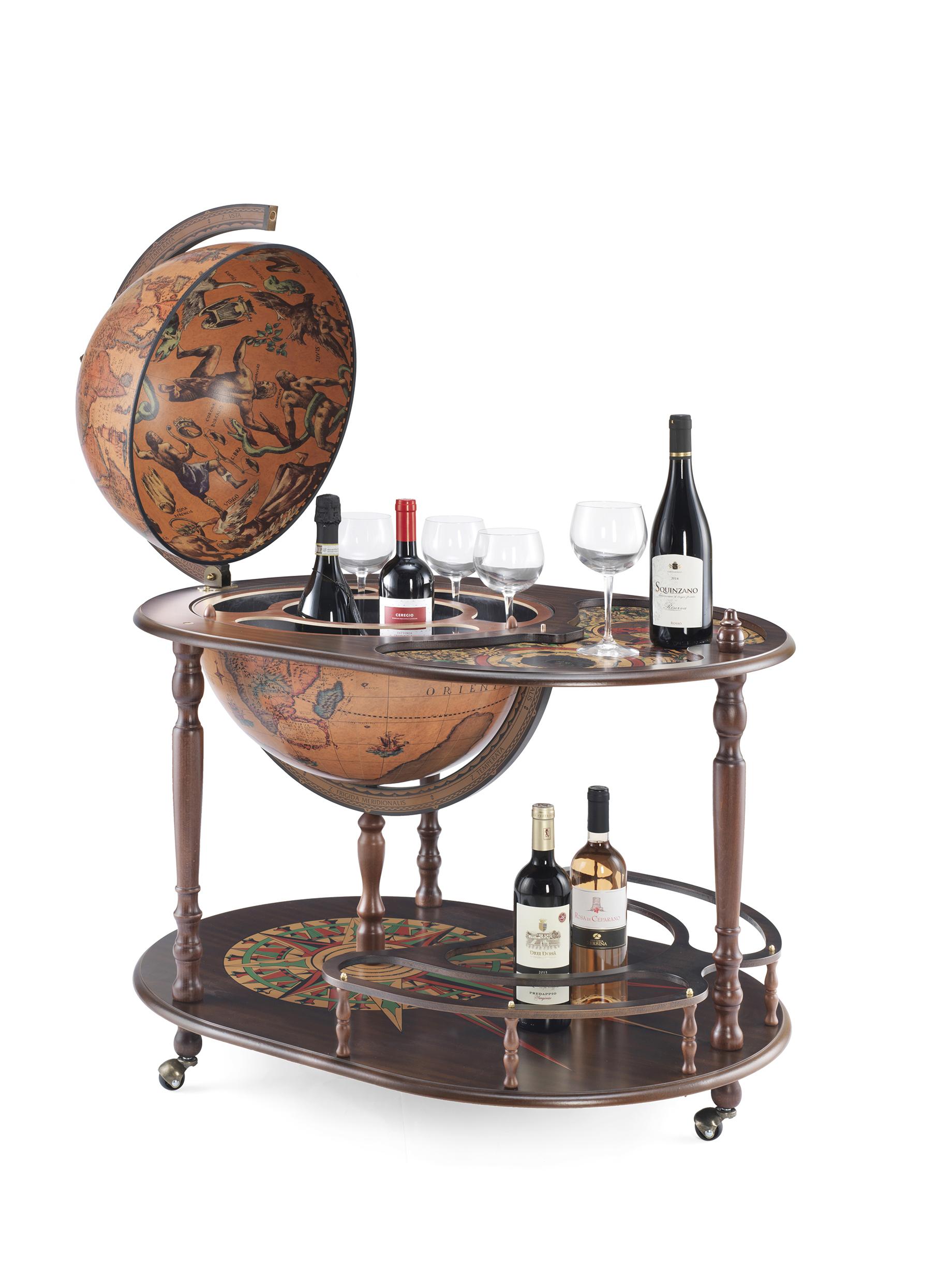 Artemide bar globe 50 Classic - 16e-eeuwse kaart