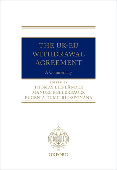 The UK-EU Withdrawal Agreement: A Commentary