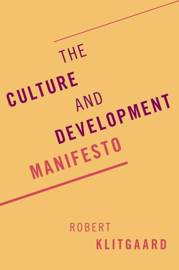 The Culture and Development Manifesto