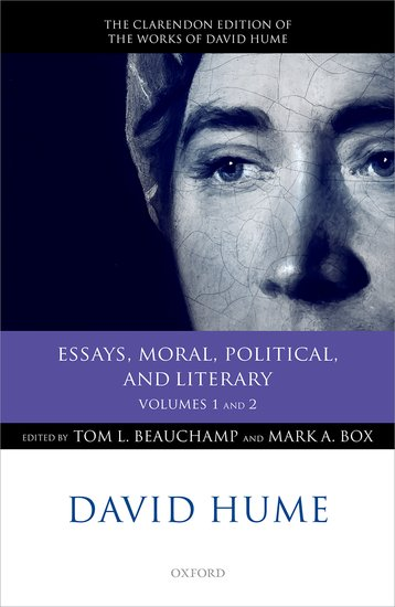 David Hume: Essays, Moral, Political, and Literary