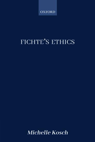 Fichte's Ethics