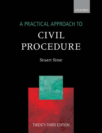 A Practical Approach: to Civil Procedure