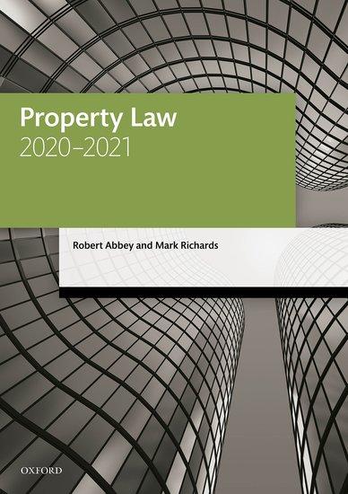 Property Law 2020-2021