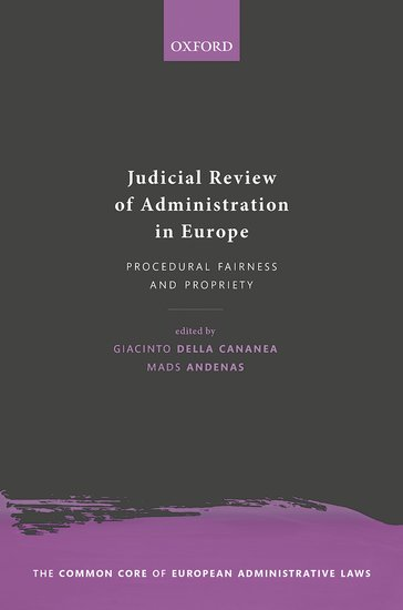 Judicial Review of Administration in Europe