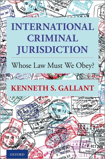 International Criminal Jurisdiction