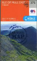 OS Explorer Active Map: Isle of Mull East