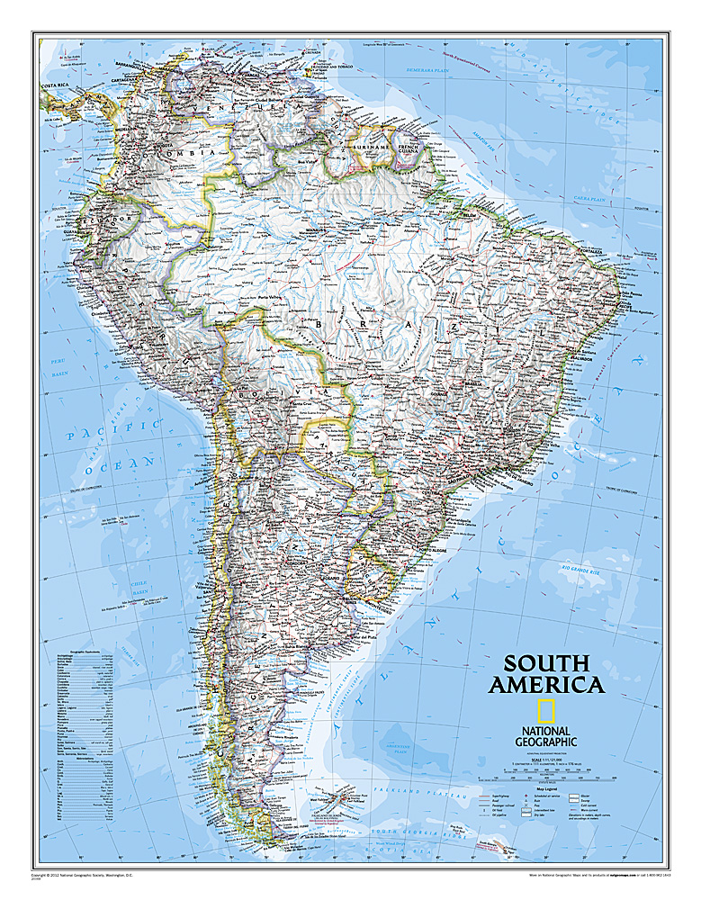 South America Classic, Tubed