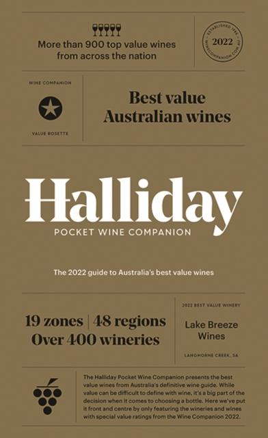 Halliday Pocket Wine Companion 2022