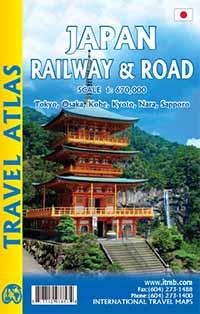 Japan Railway & Road Travel Atlas1 : 670 000