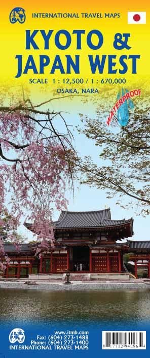 Kyoto 1 : 12 500 & Japan West 1 : 670 000