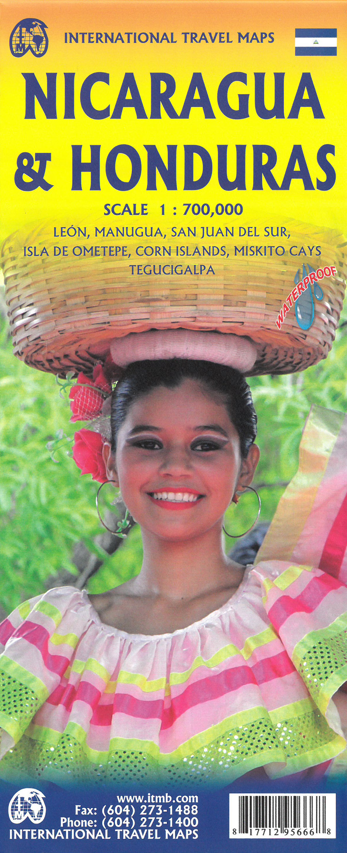 Nicaragua & Honduras 1 : 700 000