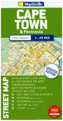 Cape Town & Peninsula 1 : 25 000
