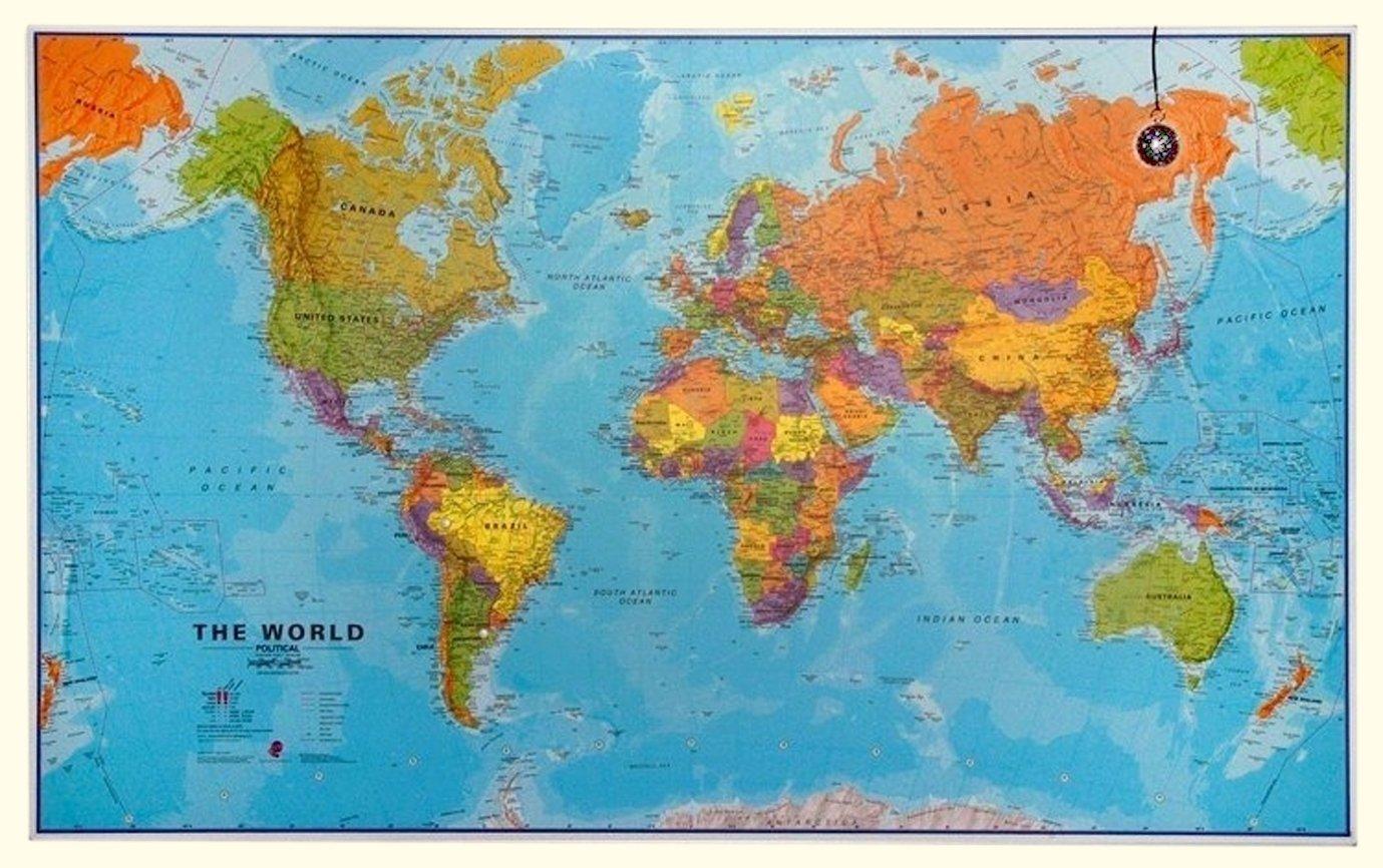Maps International The world - Large - Political