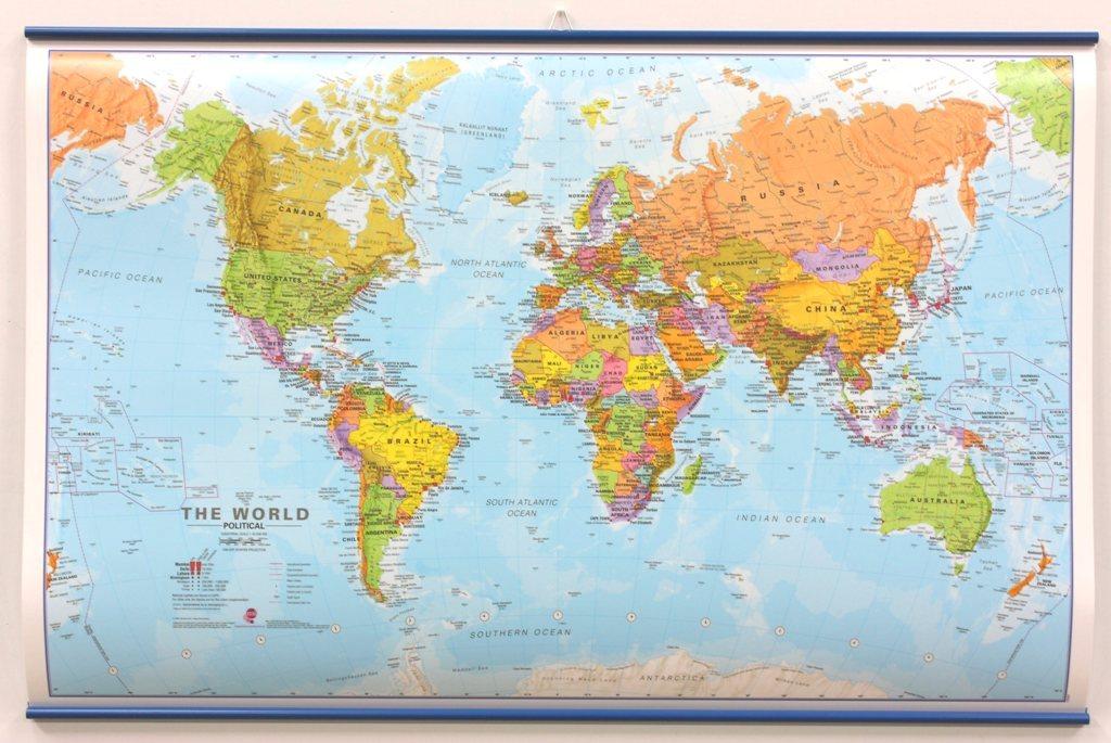 Maps International - The World Political - Small