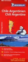 Michelin Nationalkarte Chile, Argentinien / Chili, Argentine 1 : 2 000 000