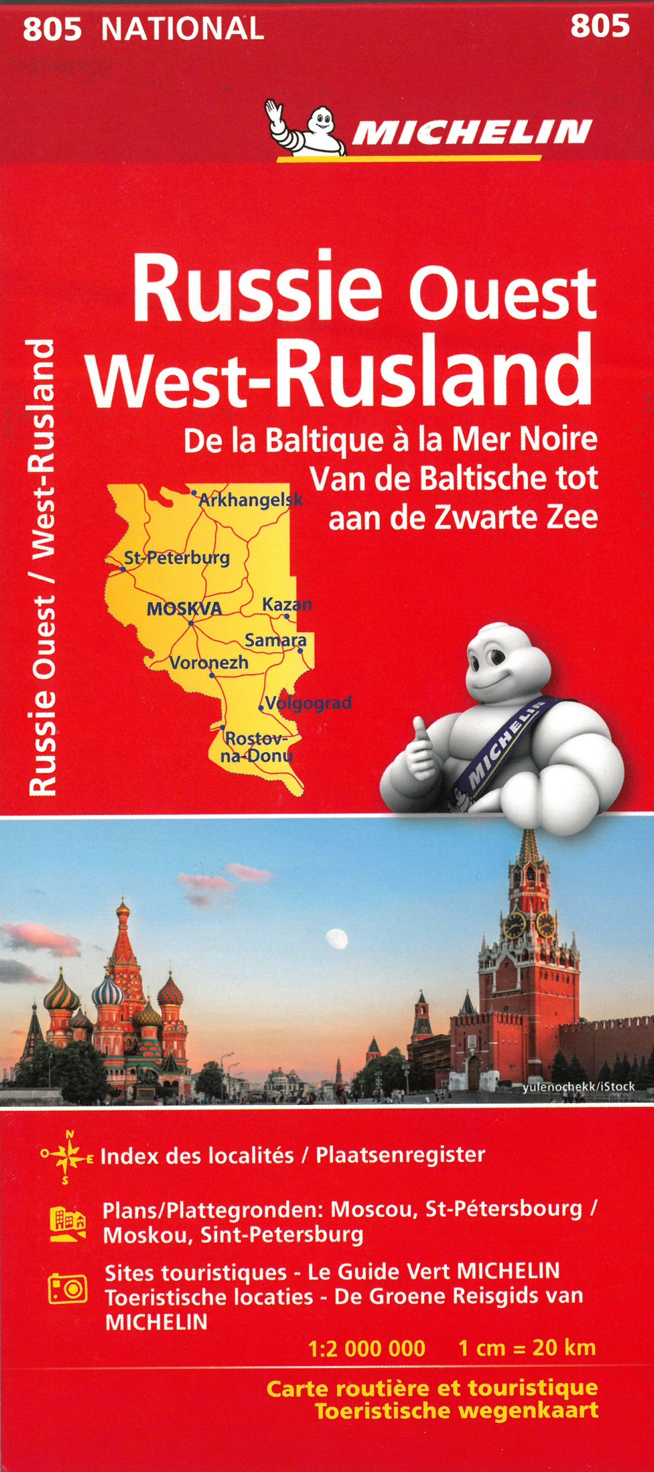 Rusland West Van Baltische tot Zwarte Zee