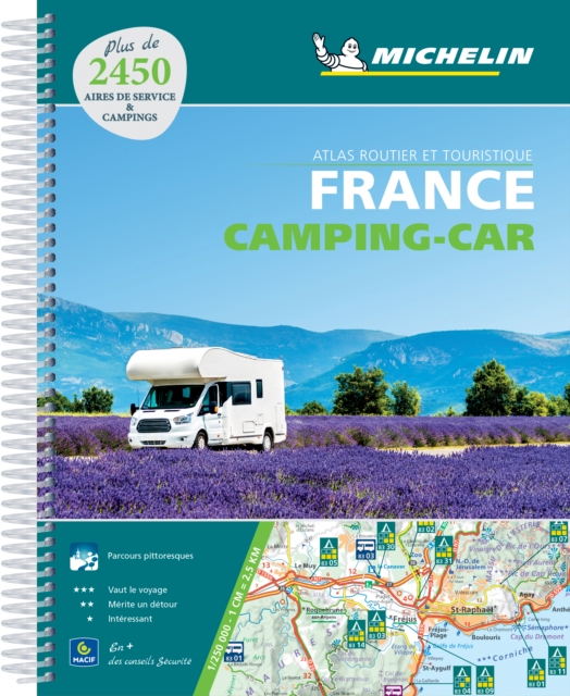 *ATLAS MICHELIN FRANKRIJK CAMPING CAR 2020