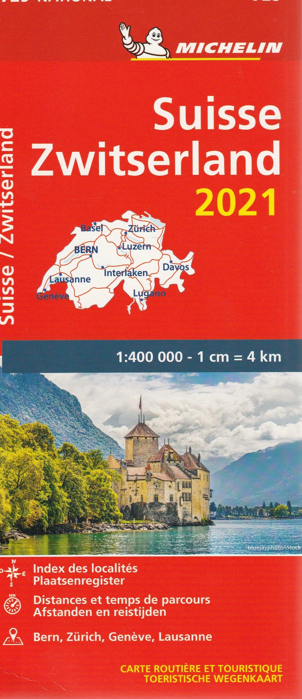 Michelin 729 Zwitserland 2021