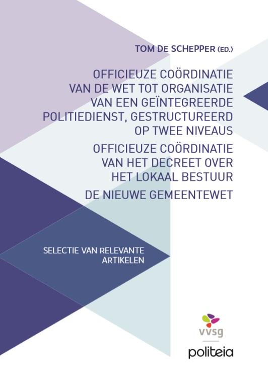 Officieuze coördinatie WPA, WGP, DLB en NGW