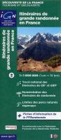 Itinéraires de grande randonnée en France 1 : 1 000 000