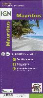 IGN Übersichtskarte Frankreich Île Maurice -Mauritius 1:85000