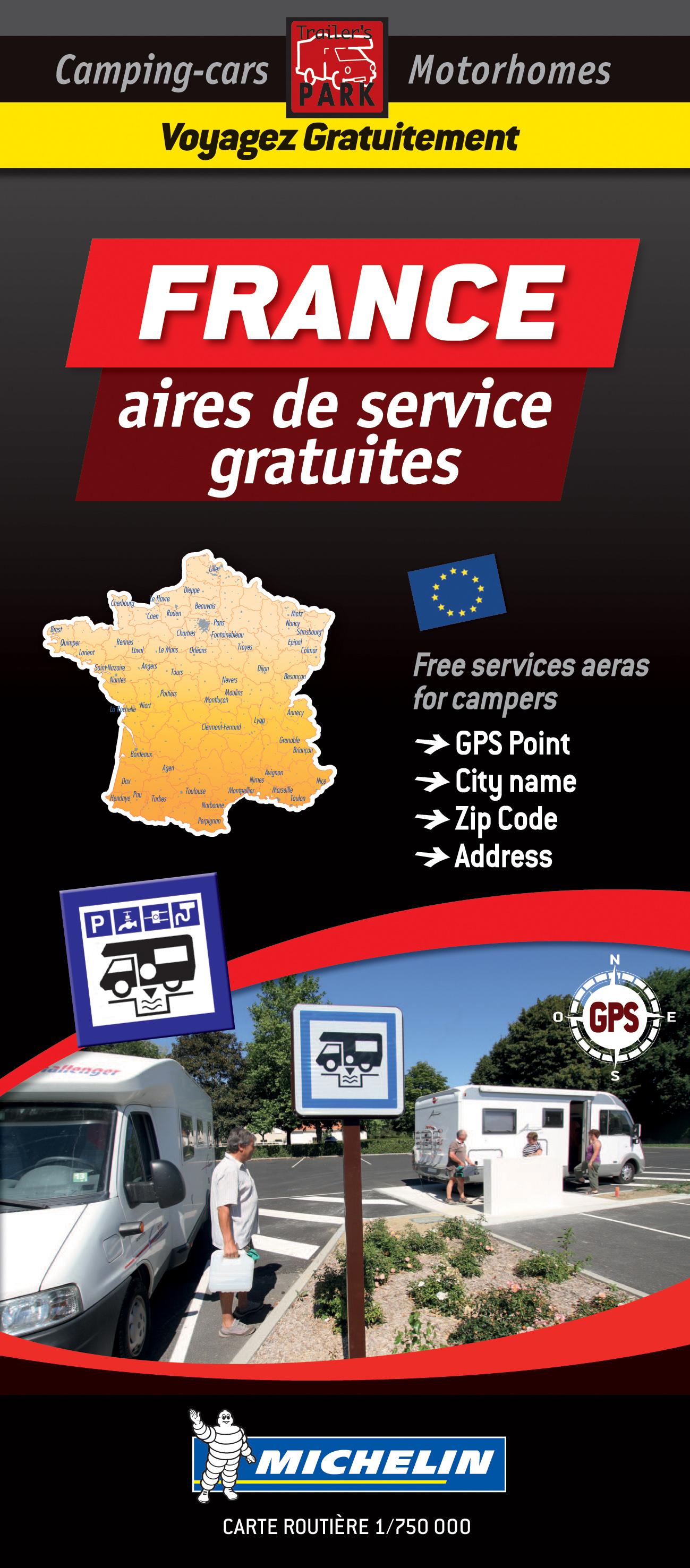 France Motorhome Stopovers