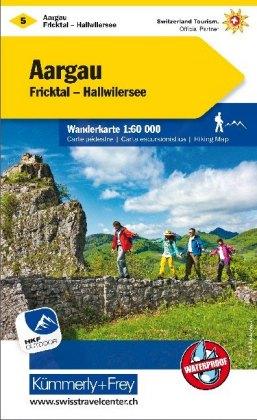 KuF Schweiz Wanderkarte 5 Aargau