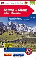 KuF Schweiz Radkarte 12 Schwyz - Glarus