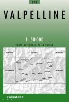 Swisstopo 1 : 50 000 Valpelline