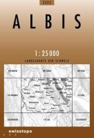 Swisstopo 1 : 25 000 Albis