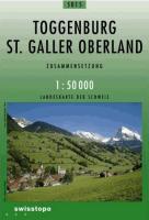 Swisstopo 1 : 50 000 Toggenburg