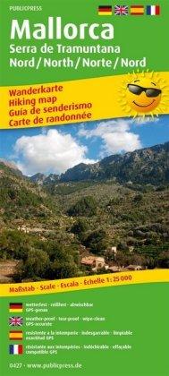 Mallorca - Serra de Tramuntana Norte/Nord /North/Nord 1:25 000