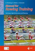 Manual of Rowing Training