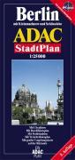 ADAC Stadtplan Berlin 1 : 25 000. Plano