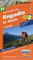 MTB-Karte 11 Engadin - St. Moritz 1:50.000