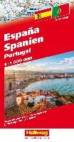 Spanien / Portugal Strassenkarte 1:1 Mio.