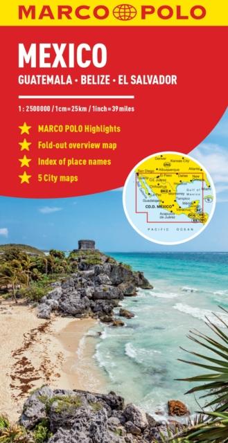 Mexico Marco Polo Map