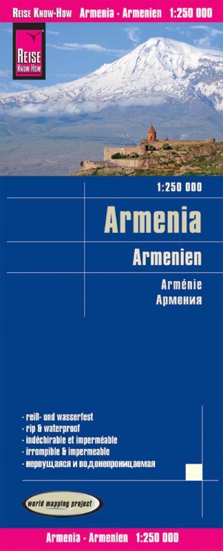 Reise Know-How Landkarte Armenien 1 : 250.000
