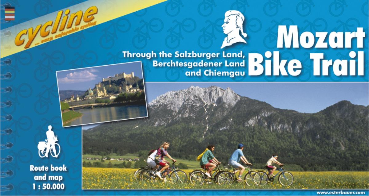 Mozart Bike Trail through Salzburger & Berchtesgadener Land