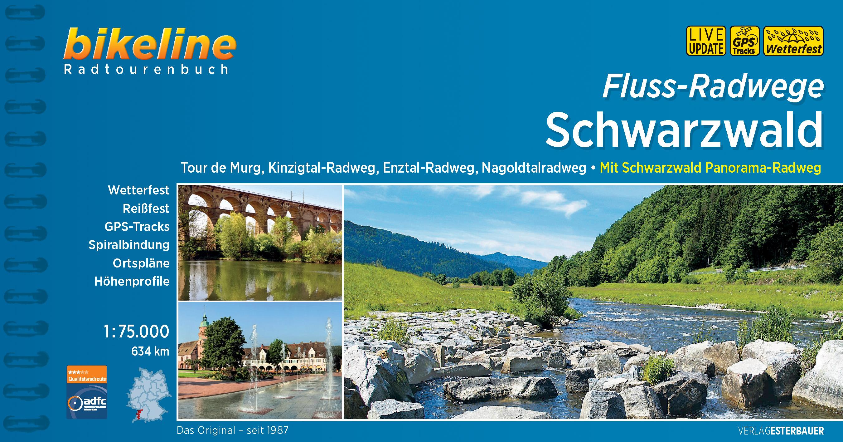 Schwarzwald Fluss-Radwege